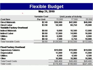 pta budget template
