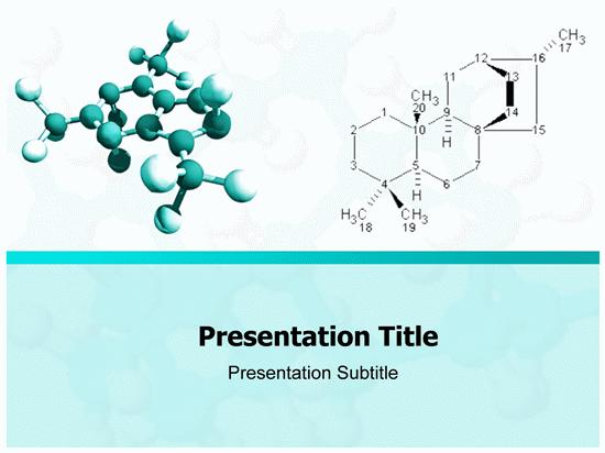 molecule powerpoint template