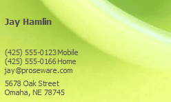 Business cards ready made office templates e mail business card template for email marketing company colourmoves