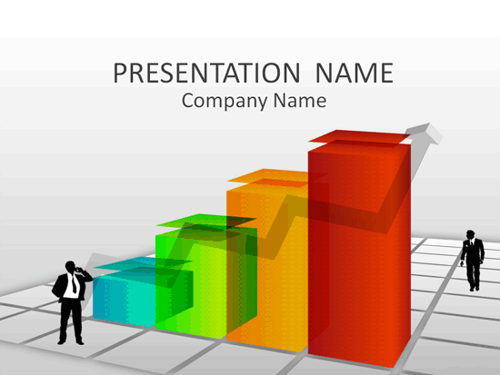 Business Trend Presentation Template | Brochures | Ready-Made Office ...
