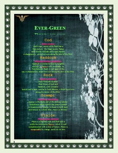 Download This Template  Free Cafe Menu Templates For Word