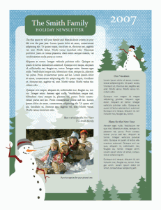 holiday-family-newsletter-template