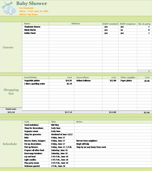24 hour daily planner template with notes and tasks list